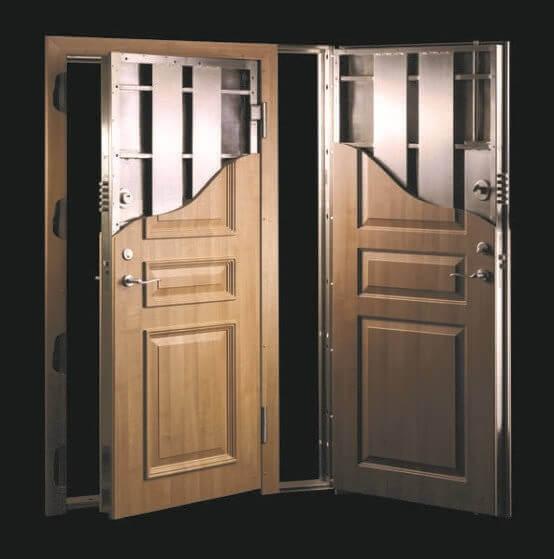 Механизъм на блиндирана врата